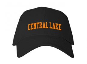 Central Lake High School Kid Embroidered Baseball Caps