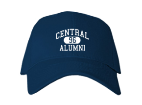 Central Middle School Embroidered Baseball Caps