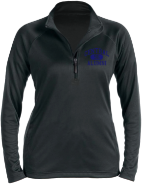 Central Middle School Stretch Tech-Shell Compass Quarter Zip