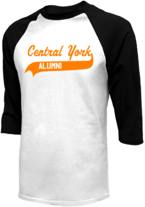 Central York High School Raglan Shirts