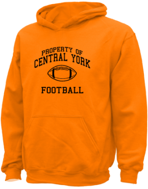 Central York High School Kid Hooded Sweatshirts