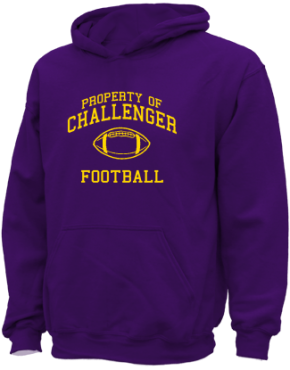 Challenger Elementary School Kid Hooded Sweatshirts