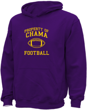 Chama Middle School Kid Hooded Sweatshirts