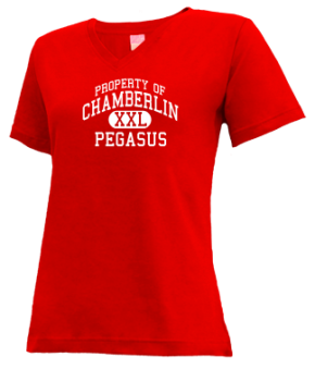 Chamberlin Elementary School V-neck Shirts