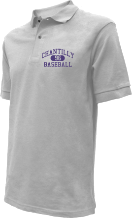 Chantilly High School Embroidered Polo Shirts