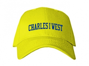 Charles I West Middle School Kid Embroidered Baseball Caps