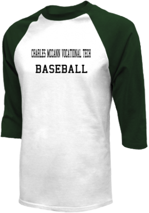 Charles McCann Vocational Tech High School Raglan Shirts