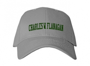 Charles W. Flanagan High School Kid Embroidered Baseball Caps