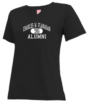 Charles W. Flanagan High School V-neck Shirts