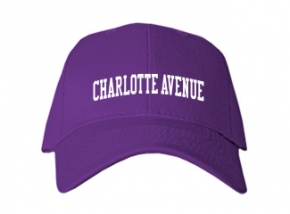 Charlotte Avenue School Kid Embroidered Baseball Caps