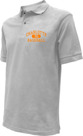 Charlotte High School Embroidered Polo Shirts