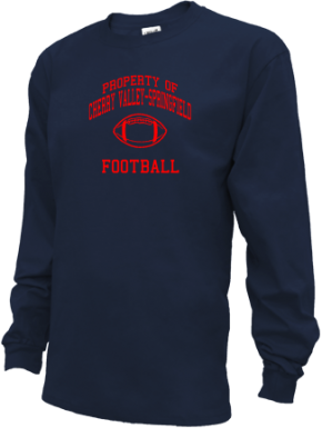 Cherry Valley-springfield High School Kid Long Sleeve Shirts