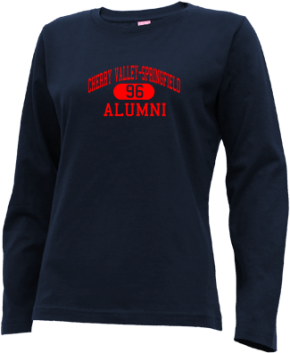 Cherry Valley-springfield High School Long Sleeve Shirts