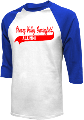 Cherry Valley-springfield High School Raglan Shirts