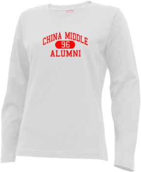 China Middle School Long Sleeve Shirts