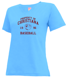 Christiana High School V-neck Shirts