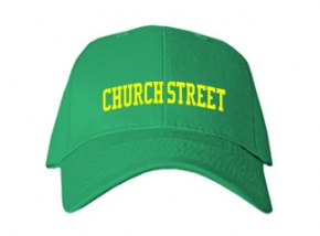 Church Street Elementary School Kid Embroidered Baseball Caps