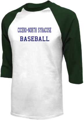 Cicero-north Syracuse High School Raglan Shirts
