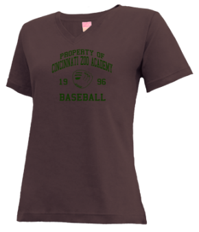Cincinnati Zoo Academy V-neck Shirts