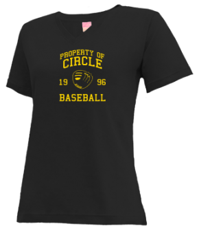 Circle High School V-neck Shirts