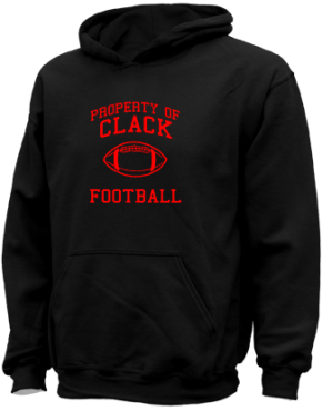 Clack Middle School Kid Hooded Sweatshirts