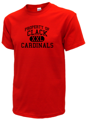 Clack Middle School Kid T-Shirts