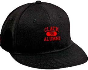 Clack Middle School Flat Visor Caps