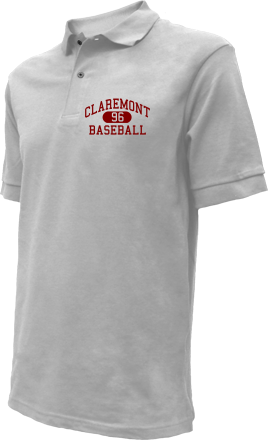 Claremont High School Embroidered Polo Shirts
