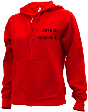 Clarence High School Zip-up Hoodies