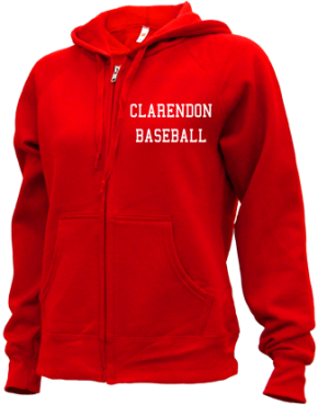 Clarendon High School Zip-up Hoodies