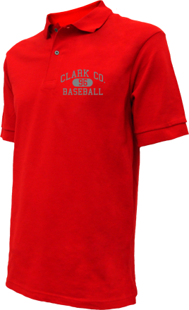 Clark Co. High School Embroidered Polo Shirts