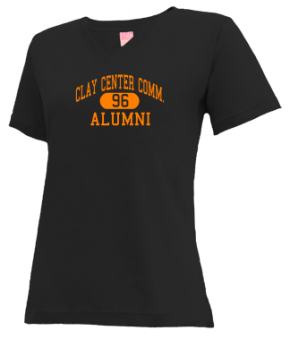 Clay Center Comm. High School V-neck Shirts