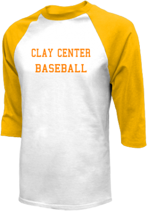 Clay Center High School Raglan Shirts