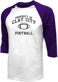 Clay City High School Raglan Shirts