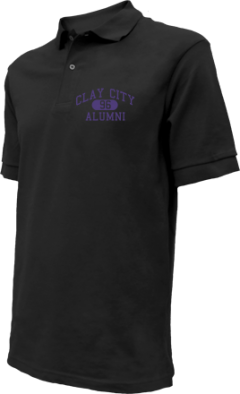 Clay City High School Embroidered Polo Shirts