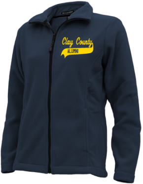 Clay County School Embroidered Fleece Jackets