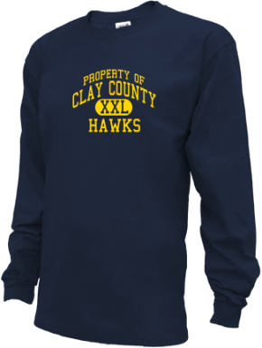 Clay County School Kid Long Sleeve Shirts