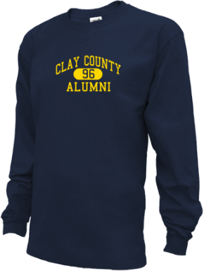 Clay County School Long Sleeve Shirts