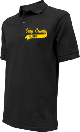 Clay County School Embroidered Polo Shirts