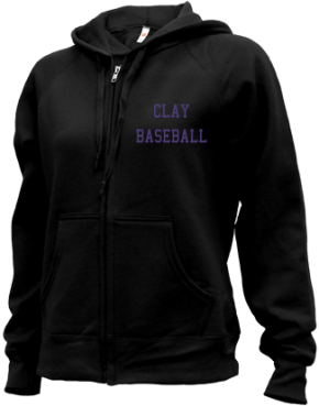 Clay High School Zip-up Hoodies