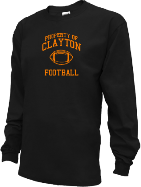 Clayton High School Kid Long Sleeve Shirts