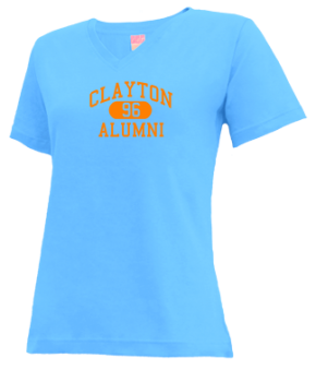 Clayton High School V-neck Shirts