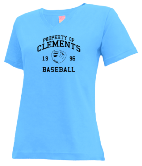 Clements High School V-neck Shirts