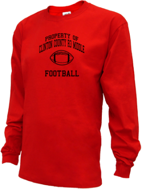 Clinton County R3 Middle School Kid Long Sleeve Shirts
