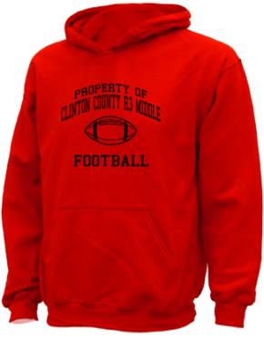 Clinton County R3 Middle School Kid Hooded Sweatshirts