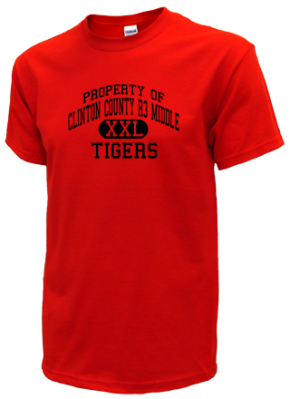 Clinton County R3 Middle School Kid T-Shirts
