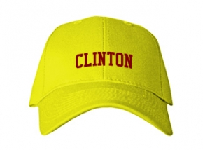Clinton Elementary School Kid Embroidered Baseball Caps