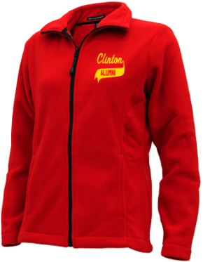 Clinton Elementary School Embroidered Fleece Jackets