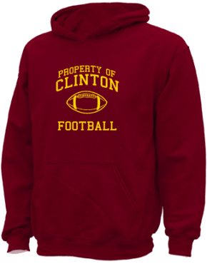 Clinton Elementary School Kid Hooded Sweatshirts