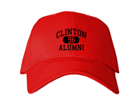 Clinton High School Embroidered Baseball Caps